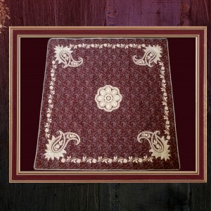 رومیزی سنتی چهار جقه