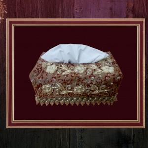 جلددستمال سنتی سرمه دوزی